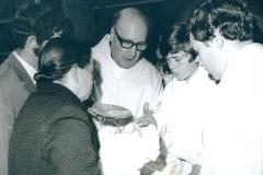 Batismo, na Paróquia do Padrão da Légua, na década de 70.